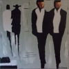 "Peinture d'art - "" Men in black """