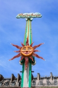 photo architecture couleurs fete manege paris : Le Roi Soleil