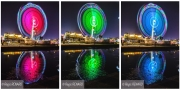 photo autres lumieres couleurs light painting manege : Profil RVB
