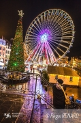 photo couleurs lumieres grande roue noel : Star