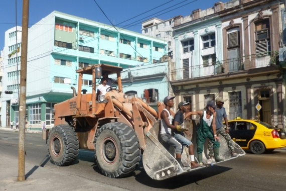 PHOTO Cuba la Havane ville transport Villes  - le Moyen de transport
