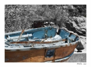 photo nature morte barque corse : Perception 050