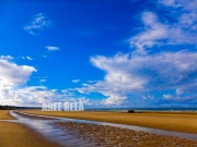 photo paysages mer normandie omaha paysage : Omaha Beach
