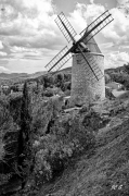 photo paysages moulin provence bouche du rhone photographie : Mon Moulin