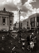 photo personnages rome monochrome italie : Rome