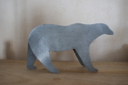 sculpture animaux : Ours blanc