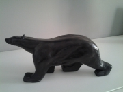 sculpture animaux ours polaire argile sculpture contempora : ours