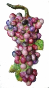 sculpture fruits : grappe 2