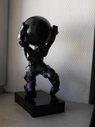 sculpture personnages figurine atlas : ATLAS