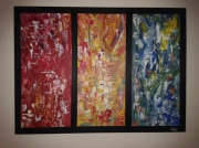 tableau abstrait abstrait contemporain art moderne : In dreams of mine