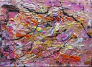 tableau abstrait pinky desform painti pinky peinture desfo abstract art pinky pinky art abstrait : PINKY