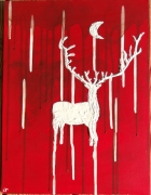 tableau animaux : cerf