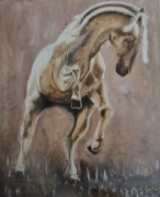 tableau animaux cheval mouvement orage nature : orage
