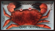 tableau animaux crabe figuratif naif decoratif : Crabe
