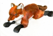 tableau animaux : peluche2