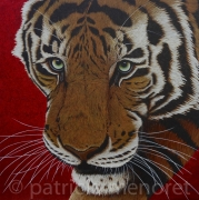 "tableau animaux tigre fauve animal felin : "" NADJA """