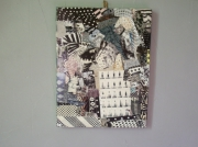 tableau autres art pop customisation collage art de rue : BLACK STORY