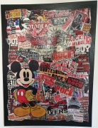 tableau autres collage mickey rock : Collage Mickey 2