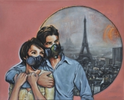tableau autres pollution paris surpopulation buffard : La vie en rose