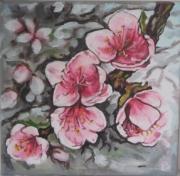 Tableau Peinture Cerisier Galerie Creation