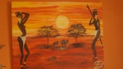 tableau paysages : africa