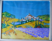 tableau paysages provence : provence