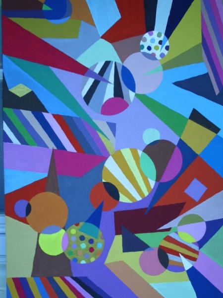 Tableau Peinture Abstrait Couleur Tableau Peinture L Abstrait Colorimetrique