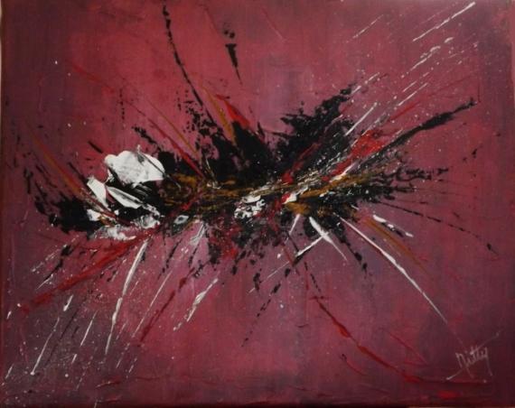 Peinture Abstraite Fond Noir Paiement En Ligne