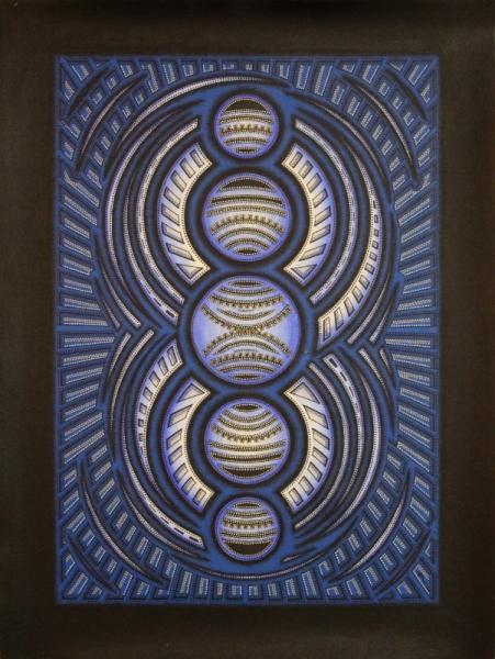 Tableau Peinture Acheter Peinture Moderne Cycle Cycle Bleu
