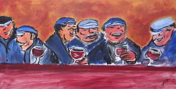 Tableau Peinture Acrylique Sur Toile Peinture Sur Toile Personnage