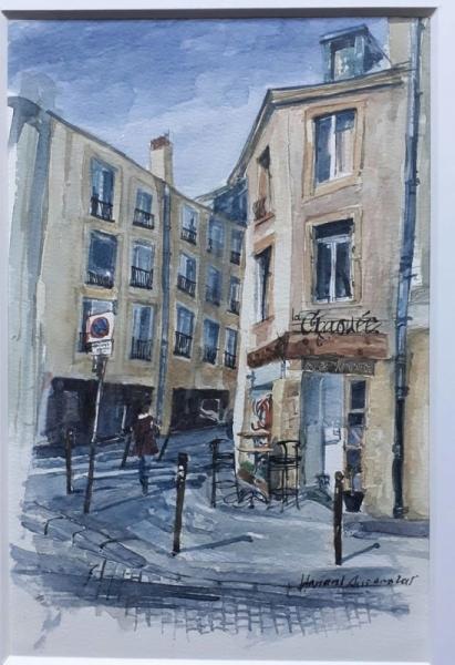 Artiste Peintre Metz tableau peinture café rdv artiste - le café chaouée. metz