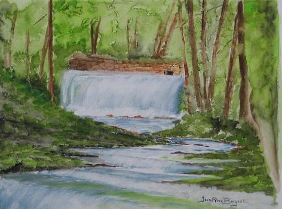 Tableau rivière cascade 4 666af06943ecf713530b93fb30dad086cascade