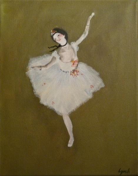 Tableau Peinture Degas Danseuse Ballet Danseuse