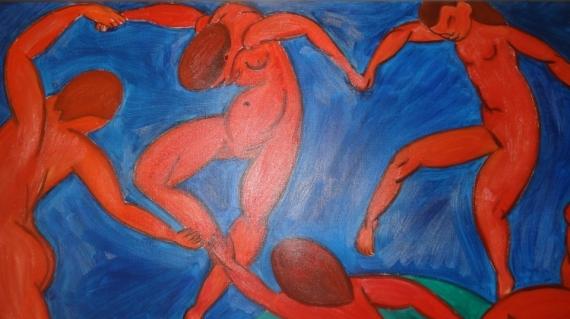 Tableau Peinture La Danse