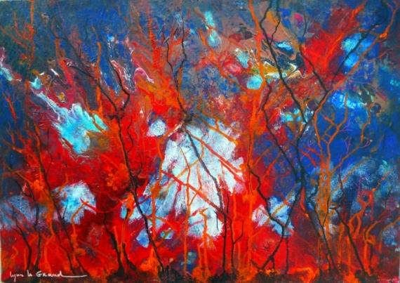 peinture tableau écologique