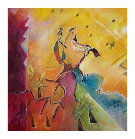 TABLEAU PEINTURE - Don Quichotte
