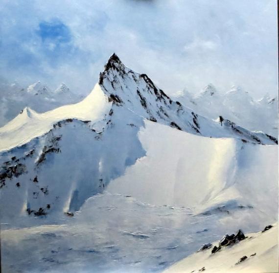 TABLEAU PEINTURE peinture montagne peinture