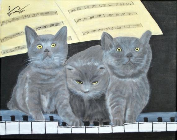 Tableau chaton noir gris blanc 3 3996c716bd3a6c6cfae65a0ebf991a12melodiechatons