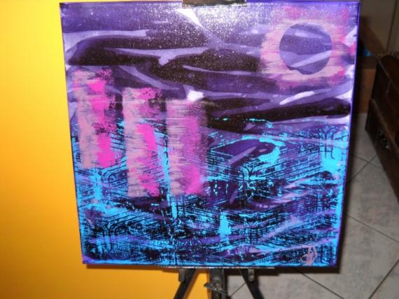 Tableau Peinture Technique Mixte Pratique Picturale Peinture Acrylique Tableau Moderne Tableau Collection Extra Muros
