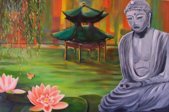 Tableau Peinture Zen Zen