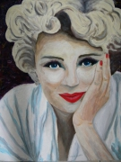 tableau personnages andre maillet johanes 0660585876 : MARILYN MONROE