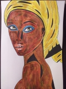 tableau personnages : Exotic Beauty II