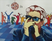 tableau personnages huey lewis country disco : Huey Lewis