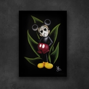 tableau personnages mickey masque souris disney : Mickey