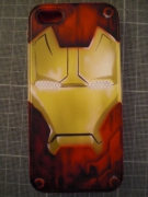 tableau personnages neuville iron man 3 iphone 5 aerographie : Coque Iphon 5 > Iron man 3
