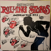tableau personnages rolling stones here come the rollin mick jagger american tour 1972 : ROLLING STONES