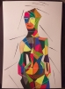 Tableau - The Cubist Girl