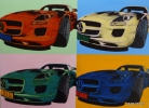 Tableau - TRIBUTE TO ANDY WARHOL
