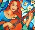 Tableaux d'art - guitare soliste